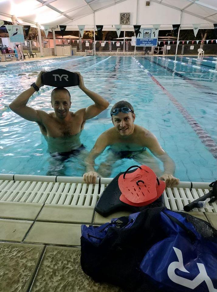 אימון שחייה